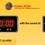 Kuku Klok- väckarklocka på internet