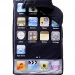 Sov i iPod-påslakan [säljs i svensk butik, Ellos]
