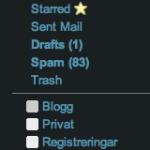 Nytt i Gmail Labs: Nested labels och message sneak peak