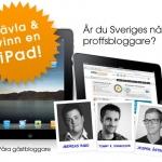 Proffsbloggarambitioner? Vinn en iPad med City Network!