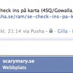 Facebook: @mentions i kommentarer