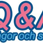 Frågor och svar 1 [Q&A]