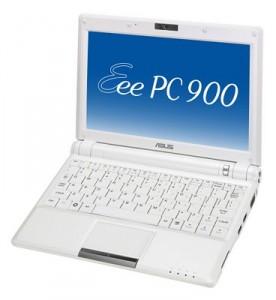 Netbook (minidator): Asus Eee PC 900
