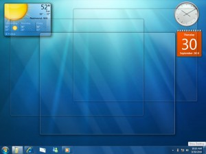 Windows 7 screenshop
