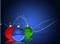 Skrivbordsunderlägg- jul