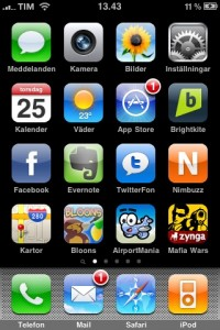iPhone 3G S screenshot