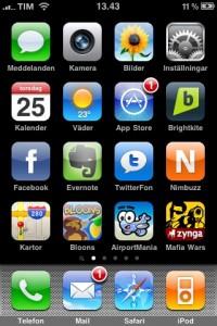 iPhone 3G S screenshot