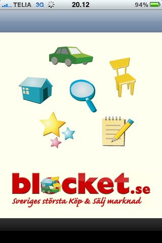 Blocket iPhone app
