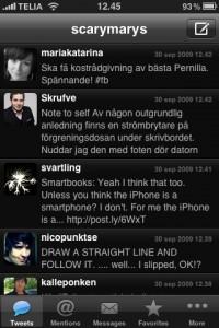 Twitter tweetie tema