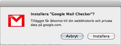 installera extensions i google chrome (chromium)