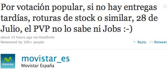 iPhone 4 börjar säljas den 28 juli i Spanien