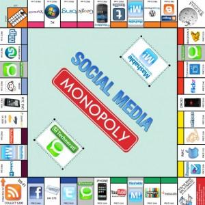 Social media-monopol