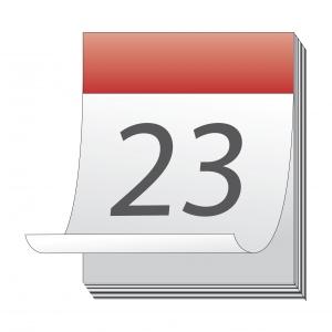 Förbered datorn inför skolstart: kalender