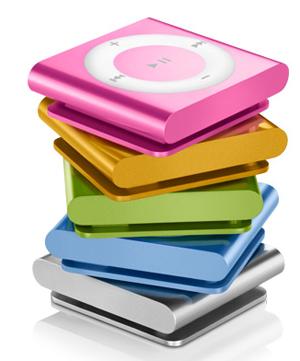 Nya iPod shuffle