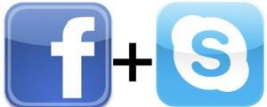 Skype med Facebook-integration