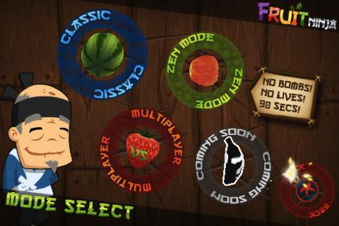 Fruit Ninja: får arcade mode i november