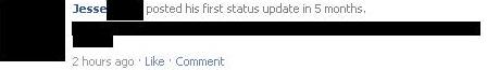 Facebook visar upp inaktiva medlemmars uppdateringar i nyhetsflödet