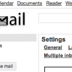 Gmail-tema: basic white