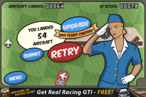 iPhone-spel: Flight Control