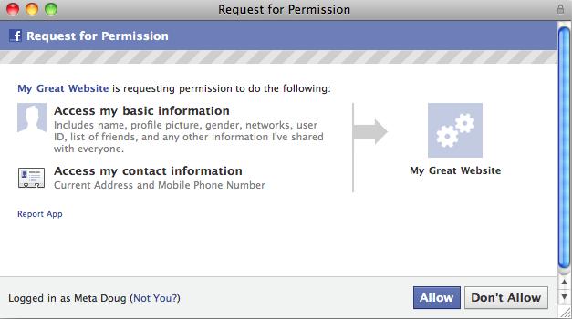 Facebook: Tredjepartsutvecklare får tillgång till din adress och ditt telefonnummer