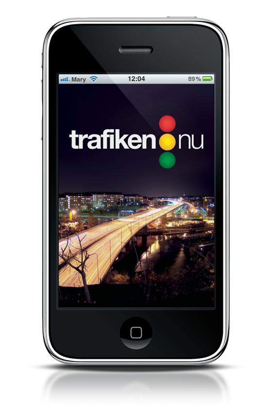 iPhone-app: Trafiken