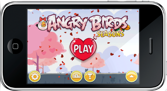Angry Birds Seasons: Valentine's Edition