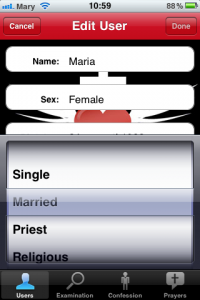 Confession: A Roman Catholic App- bikta dig i iPhone
