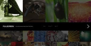 Wordpress-teman: Fullscreen