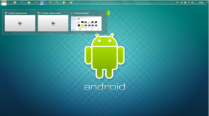 Windows 7-tema: Android