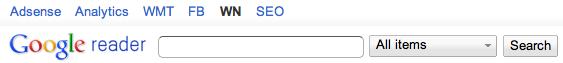 Minimalist Google Reader (Chrome-tillägg)