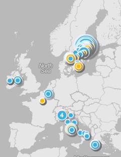 Weeplaces: check ins från Foursquare, Facebook Places och Gowalla på en och samma karta