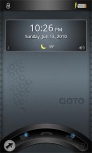 Goto Lockscreen för Android