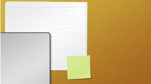 Organisera skrivbordet med skrivbordsunderlägg/wallpapers: Layered Desktop