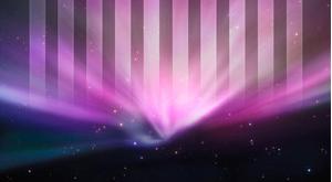 Organisera skrivbordet: Striped Aurora