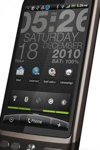 WP-clock för Android