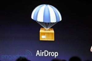 Apples Keynote på WWDC: OS X Lion- AirDrop