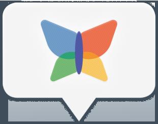 Bild: Windows Live Messenger (MSN) i iChat med Cocoon