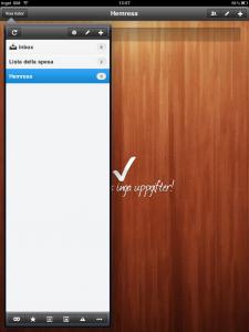 Bild: Wunderlist på iPad