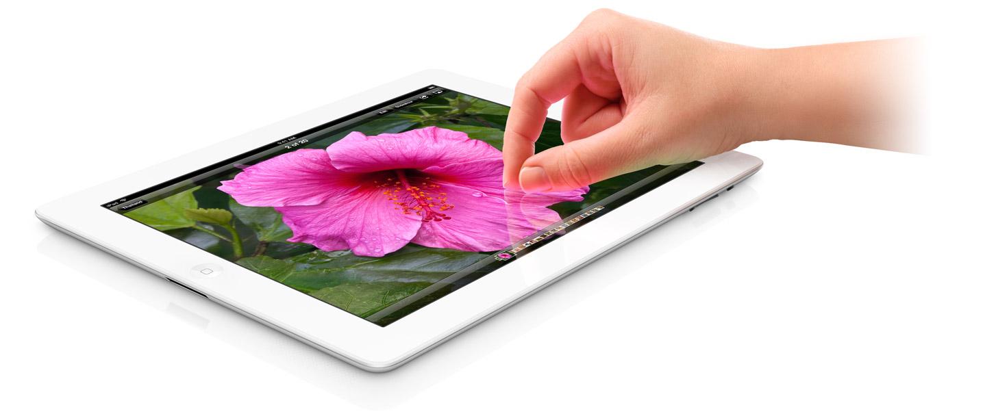 Bild på nya iPad