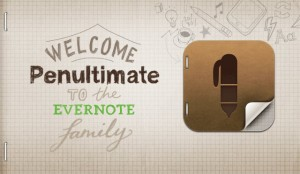 Evernote och Penultimate (iPad)
