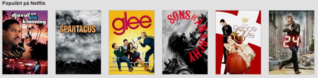 Skärmdump på Netflix