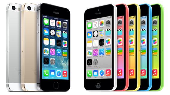 Bild på iPhone 5S och 5C
